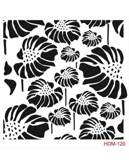 Hdm-120 Home Decor Midi Stencil (Schablone)