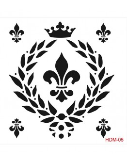 Stencil (Schablone) Home Decor Midi Hdm-05
