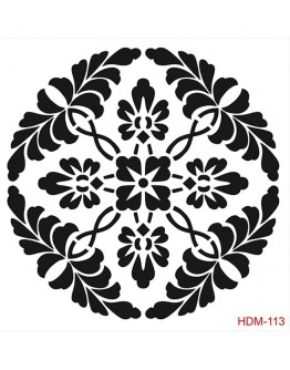 Stencil (Schablone) Home Decor Midi Hdm-113