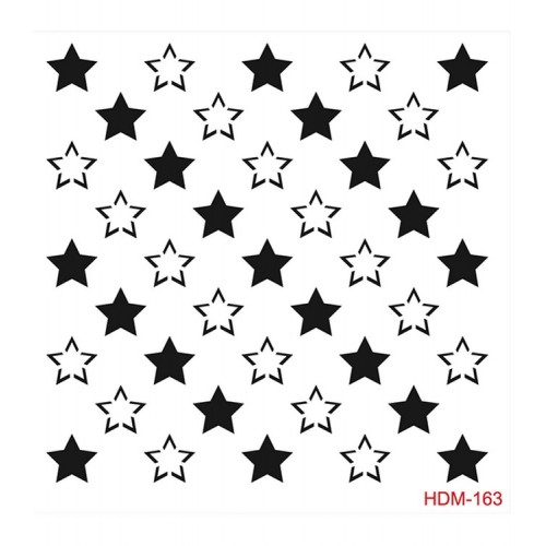 Stencil (Schablone) Home Decor Midi Hdm-163