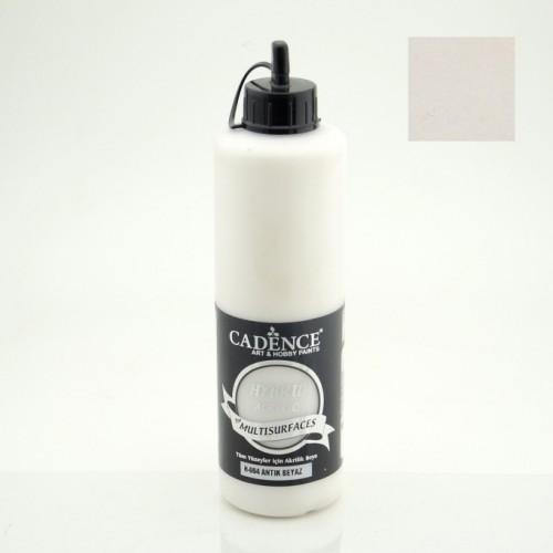 Acrylfarbe Multisurface Antikweiß 500ML auf Wasserbasis für alle Oberflächen
