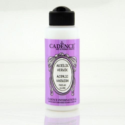 Cadence Acryllack glänzend auf Wasserbasis 120ML