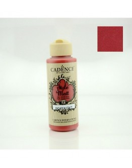 Matt Acrylfarbe Coral Rot 120 ml
