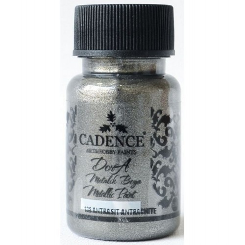 Dora Metallic Acrylfarben Anthrazit 50 ml