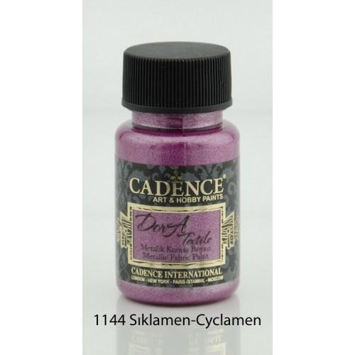 Stofffarben (Metallisch) Acrylfarbe Zyklamen 50 ml