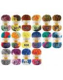 Papatya Fluffy | 5% Polyester, 95% Premium Acryl | 100 g / 33 m| 15 Farben
